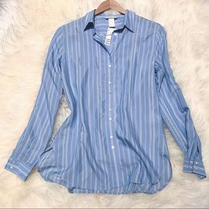 Silky Striped Blouse (2 for $15!)